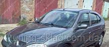 Вітровики вікон Рено Меган 1хэтчбек (дефлектори бокових вікон Renault Megane 1 hb)