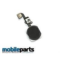Оригинальный Шлейф с Кнопкой Домой для iPhone 6 (черный)