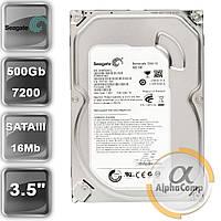"""Жорсткий диск 3.5"""" 500Gb Seagate ST3500413AS (16Mb/7200/SATAIII) БО"""