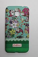 Чехол-накладка Silicon Case Cath Kidston Huawei Y6 Pro Green Фосфорная