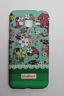 Чехол-накладка Silicon Case Cath Kidston Samsung J120 (J1-2016) Green Фосфорная