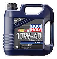 Масло моторное Liqui Moly SAE 10W-40 OPTIMAL, 4л (пр-во Liqui Moly)