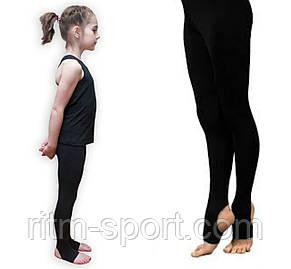 Лосины спортивные черные со следом, фото 2