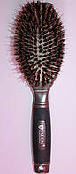 Массажная щётка Salon со щетиной для нарощенных волос 6365RPT