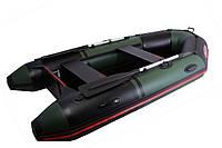 Моторная ПВХ лодка VM 285 (PS) зел/черн