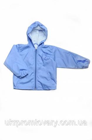 """Куртка ветровка """"Малышок"""" синяя, фото 2"""
