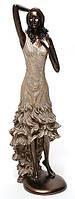 Статуэтка Девушка, темная бронза 38 см
