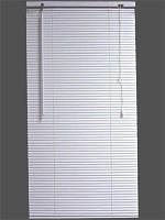 Жалюзи пластиковые белые, 115*130 см.
