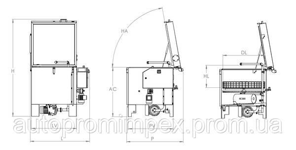 Технические характеристики SIMPLEX 80 HT