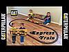 Большая железная дорога Строительный экспресс CAT Toy State CAT Construction Express Train 55651