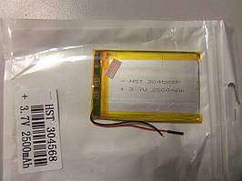 Внутрішній Акумулятор 3,8*41*85 (2500 mAh 3,7 V) 354285 AAA клас в Запоріжжі