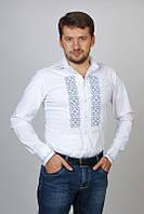 Рубашка мужская/вышиванка белая