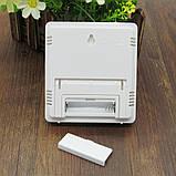 Цифровий термо-гігрометр AIRO HTC-1 (термометр: -10 °C~+50 °C; гігрометр: 10%-99%), годинник, будильник, фото 6