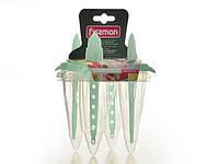 Пластиковый набор из 4 форм для изготовления мороженого Fissman (BW-6719.4 )