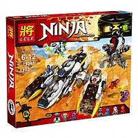 Конструктор Lele NINJA 79347 Внедорожник с суперсистемой маскировки аналог LEGO NINJAGO 70595