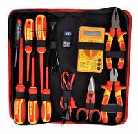Набор инструментов для электрика 30 элементов Bass Polska 3823