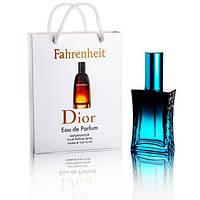 Парфюмированная вода Christian Dior Fahrenheit, 50 мл в подарочной упаковке