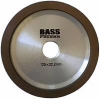 Алмазный диск для заточки с твердосплавной режущей пластиной 125x10x2x22,2мм Bass Polska 2752
