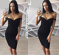 37f932979bb Женское кружевное платье с декольте