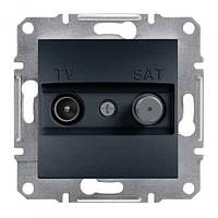 SHNEIDER ELECTRIC ASFORA TV-SAT Розетка концевая Антрацит