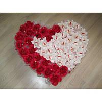 """Сердце из конфет для влюбленных""""Любимой"""""""