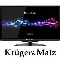 Телевизор 24'' Kruger&Matz, HD, 2 HDMI, DVB-T2