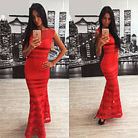 f36aee8e0da Длинное стильное платье в пол L10050