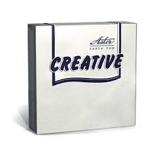 Столовая бумажная салфетка до 25 см