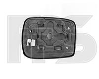 Вкладыш зеркала левый с обогревом под квадратный крепеж Accord 8 2008-10