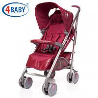 4 Baby коляска City (Dark Red) красный