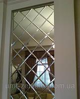 Плитка зеркальная с фацетом 10мм серебро 100*100мм
