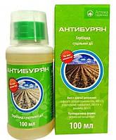 Гербицид сплошного действия Антибурьян (100 мл) — для борьбы с сорняками