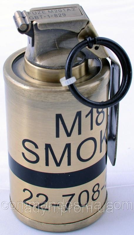 Зажигалка в виде гранаты 7290 высота 9 см