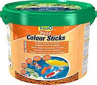 Корм для прудовых рыб Tetra Pond Colour Sticks 10л / 1,9кг (для усиления окраса)