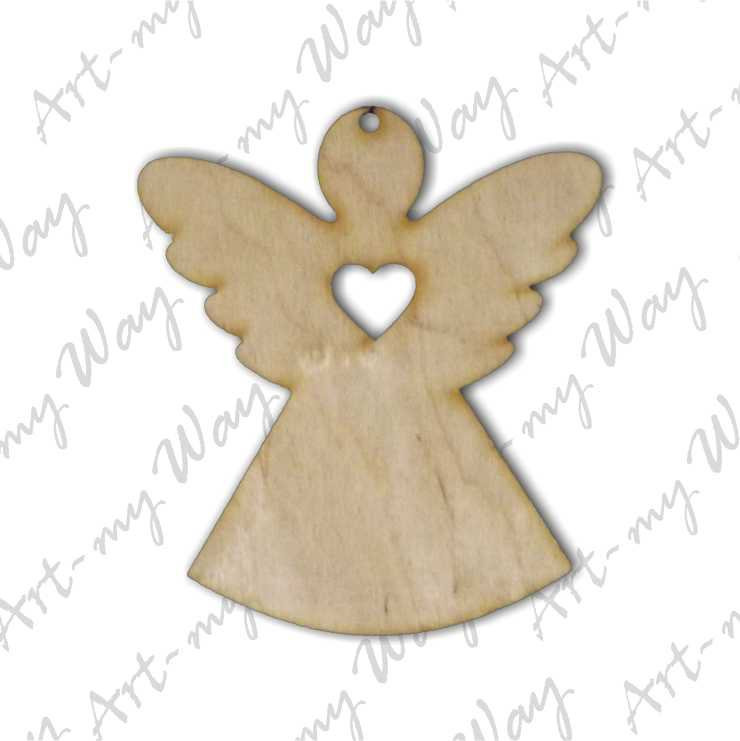 Подвеска -Ангел с сердцем
