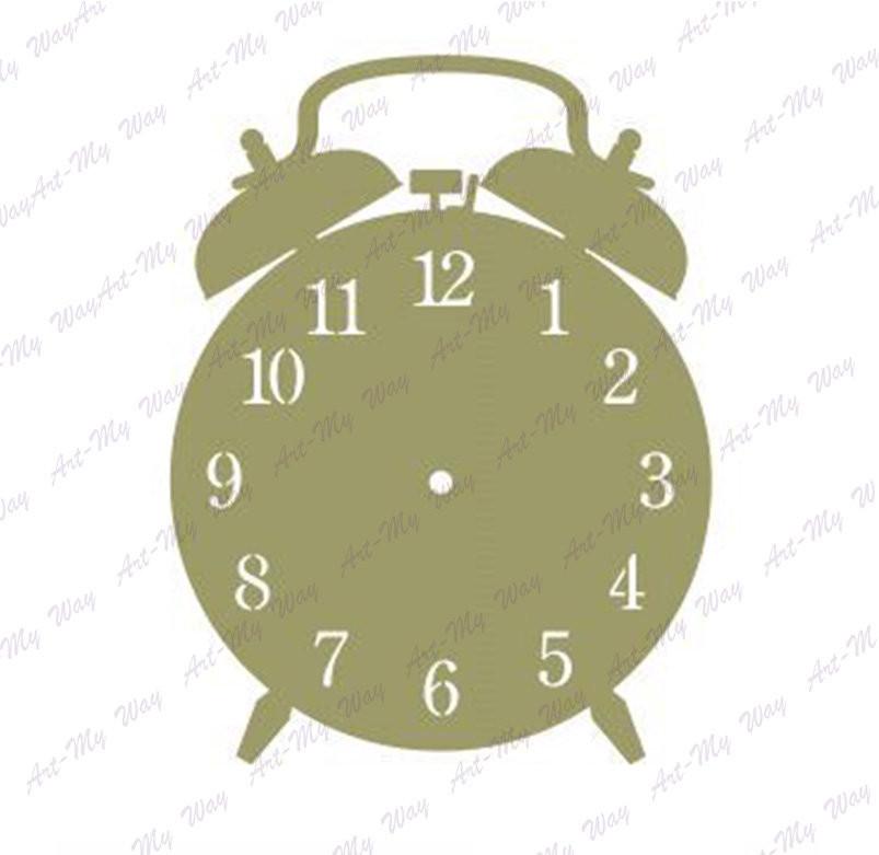 Основа-годинник (ДВП)Будильник