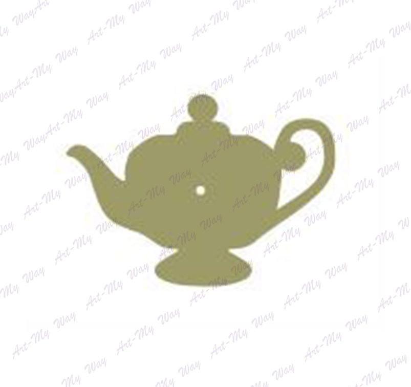 Основа-часы (фанера)Чайник