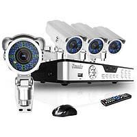 Сравнение AHD, TVI, CVI стандартов видеонаблюдения