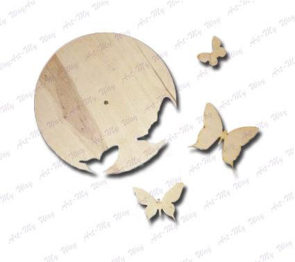 """Годинник-""""Метелики"""""""
