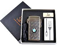 Зажигалка подарочная BMW (Электроимпульсная, USB) №4759