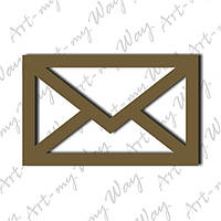 Амур - письмо-10см