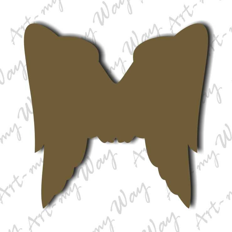 Декор - крылья ангела 2-10см