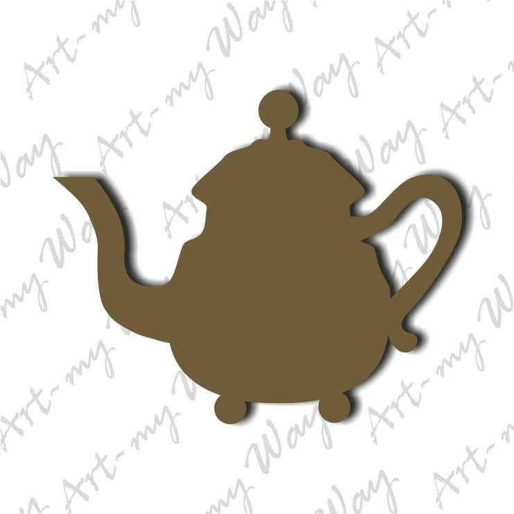 Декор - чайник-10см