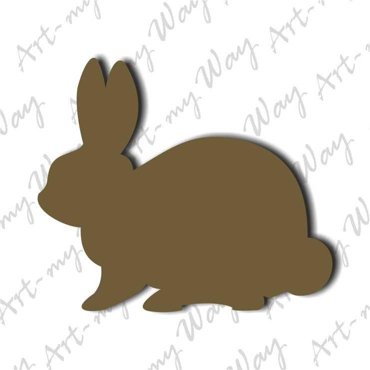 Тварини - заєць-5см