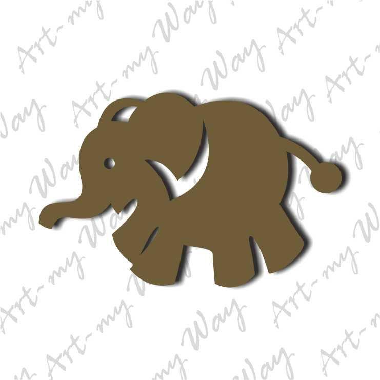 Животные -Слоник-5см