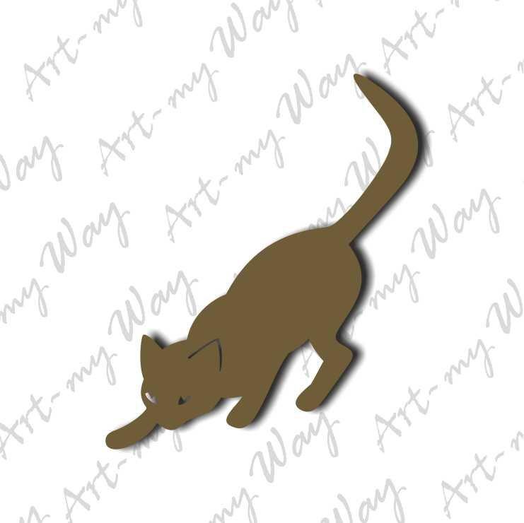 Животные - кот4-7см