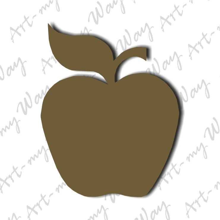 Сад и огород - яблоко-5см