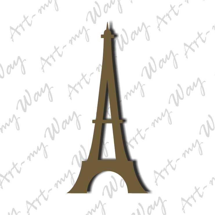 Декор Париж 10см