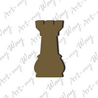 Шахматная фигура -  ладья 3см