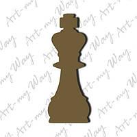 Шахматная фигура -король 3см